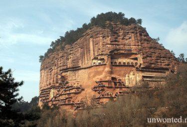 Пещерный монастырь Майцзишань