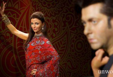 Восковые фигуры звезд индийского кино