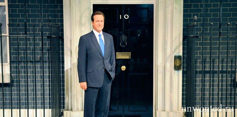 Восковая скульптура Дэвид Кэмерон