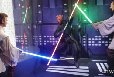 Восковые фигуры героев Star Wars