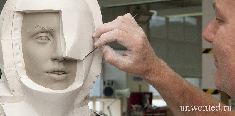 Процесс создания восковых фигур музея мадам Тюссо