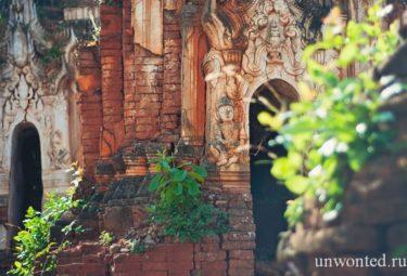 Барельеф и изображения Будды