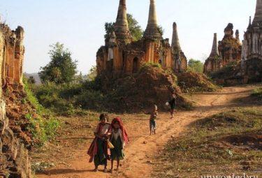 Заброшенный храмовый комплекс Шве Индейн Пайя