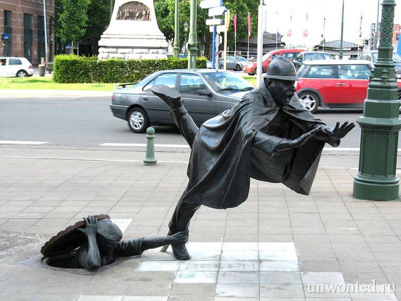 Необычные скульптуры мира - De Vaartkapoen