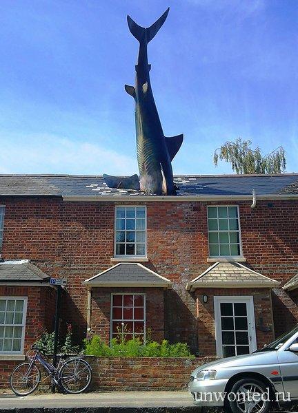 Необычные скульптуры мира - Акула
