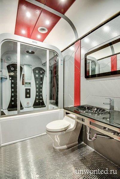 """""""Star Trek"""" дом - ванная комната"""