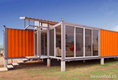 Современный дом из контейнеров