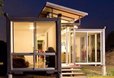 Современный дом из контейнеров - альтернатива для загородного дома