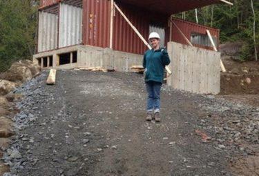 Дом из грузовых контейнеров Клоди Дюбрейль