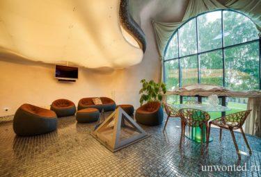 Дом ракушка - светящийся потолок