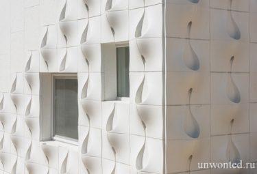 Фасадные панели с карманами