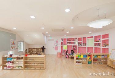 Необычный детский сад - помещение группы