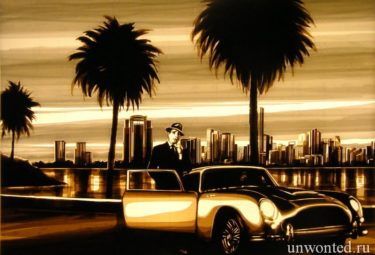 Miami Ride - удивительные картины Макса Зорна