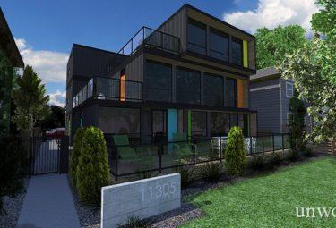 Многоквартирный дом в контейнерах H08 Multi-family