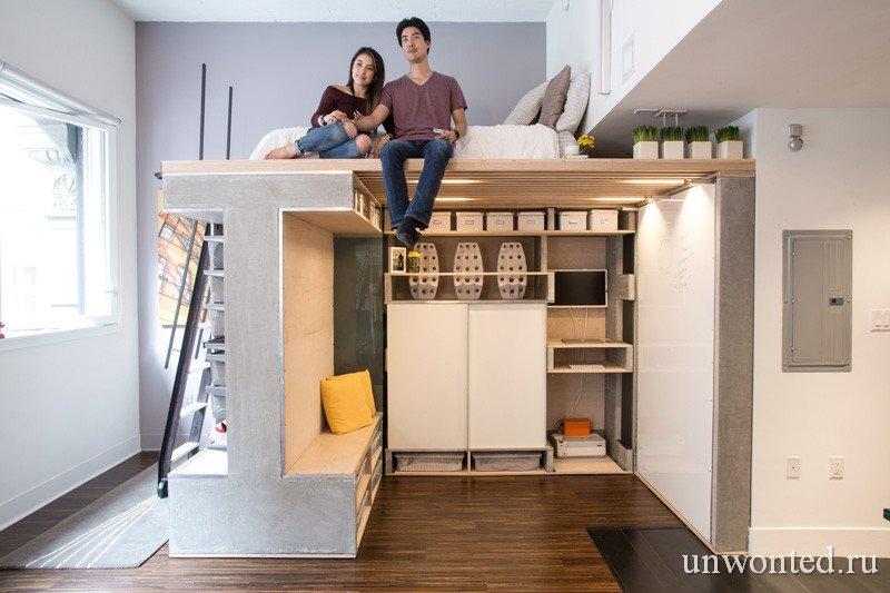 Мультифункциональная квартира - Domino Loft