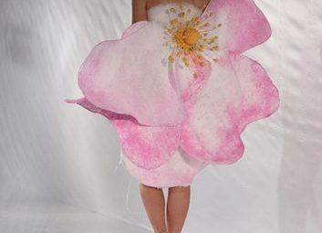 Одежда будущего - необычное платье