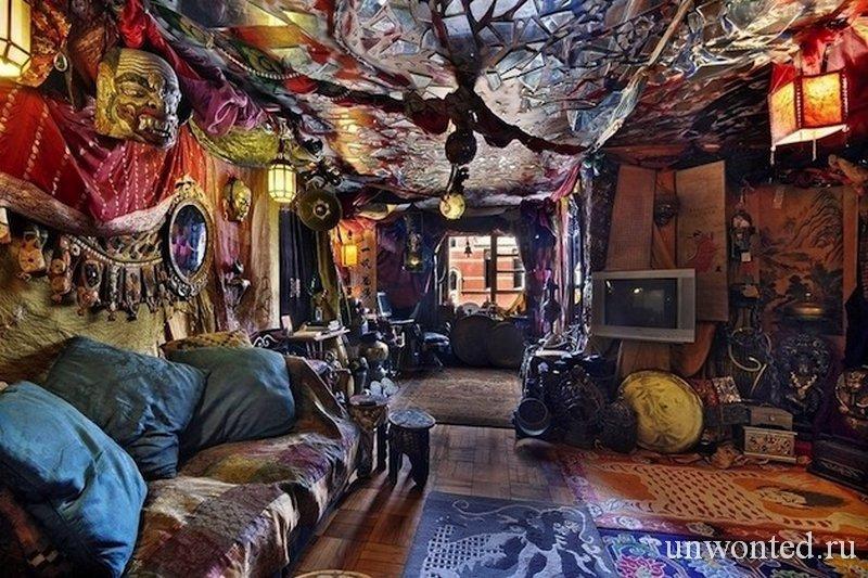 Сказочный интерьер квартиры в Нью-Йорке