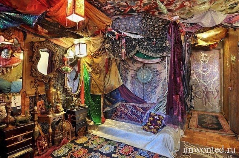 Сказочный интерьер квартиры в Гринвич-Виллидж