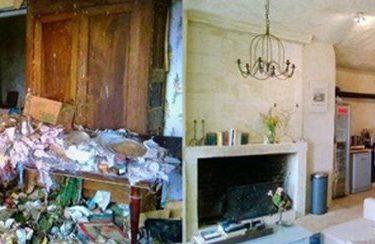 Дом в пещере за 1 евро до и после ремонта