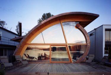 Плавающий дом Fennell Residence - палуба