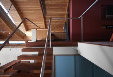 Второй этаж-лофт плавающего дома Fennell Residence