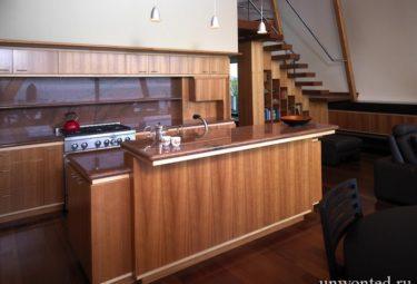 Плавающий дом Fennell Residence - кухня