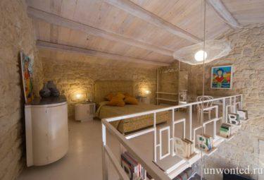 Casa Nuvole Modica спальня - лофт