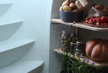 Современный пластиковый погреб для хранения продуктов питания