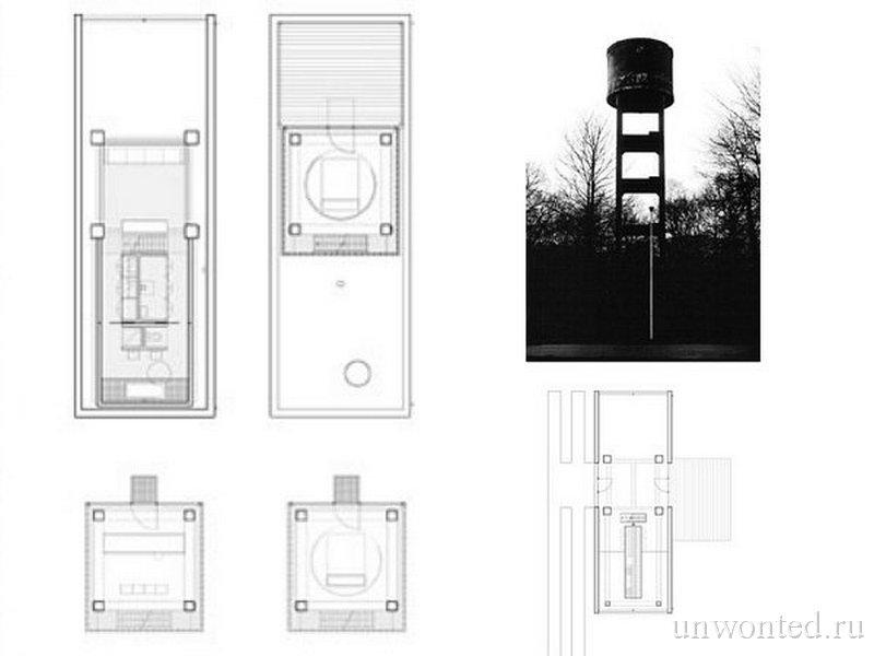 Старая водонапорная башня в Брассхаат