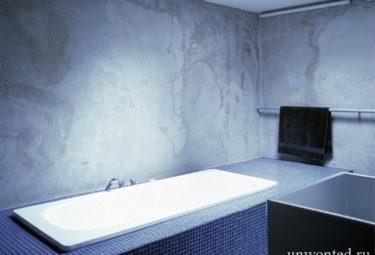 Ванная комната в водонапорной башне переделанной в дом