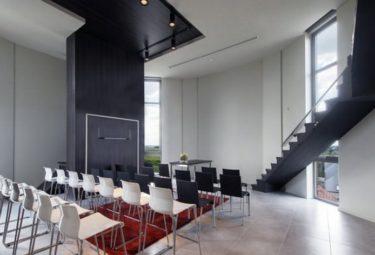 Бельгийский дом в водонапорной башне - площадка для проведения мастер-классов