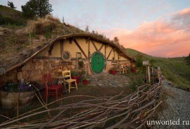 Домик хоббита - Крошечный дом в Шире