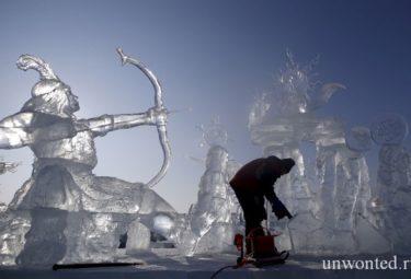 Ледовые скульптуры Харбина