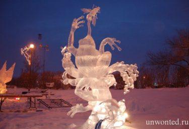 High on Ice 2011 - ледяные скульптуры Дзюнъити Накамура