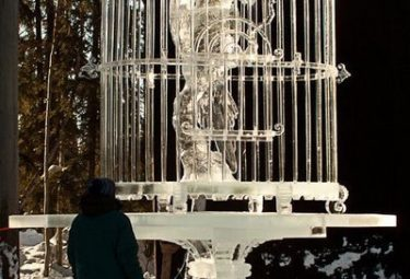 Let It Be - ледяные скульптуры Дзюнъити Накамура