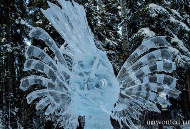 Take a Walk - ледяные скульптуры Дзюнъити Накамура