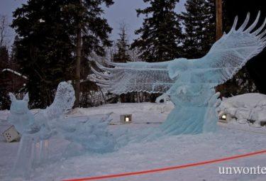 The Great Escape - ледяные скульптуры Дзюнъити Накамура