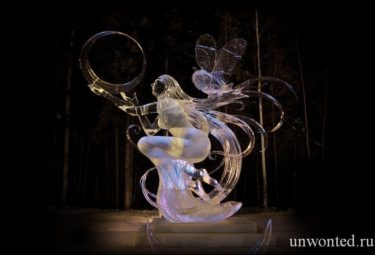 Soul of the Moon - ледяные скульптуры Дзюнъити Накамура