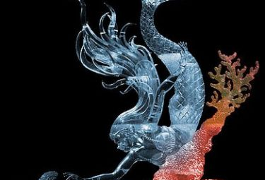 Mysterious Pearl - ледяные скульптуры Дзюнъити Накамура