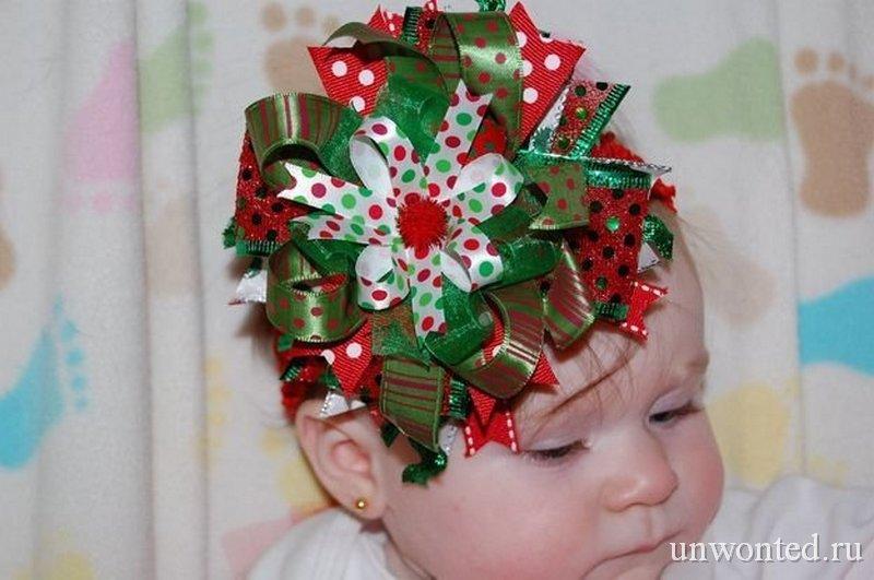 Необычные прически маленькому ребенку на новый год