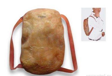 Городской рюкзак из человеческой кожи SkinBag