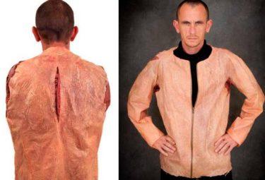 Мужская куртка из человеческой кожи SkinBag