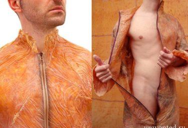 Искусственная человеческая кожа SkinBag созданная Оливье Гуле
