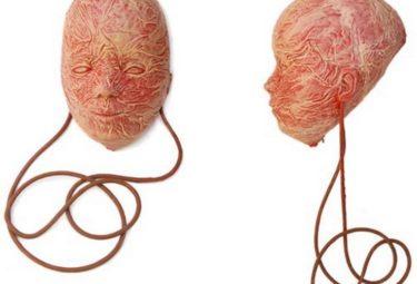 Мешок SkinBag в форме человеческой головы