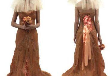 Свадебное платье из человеческой кожи SkinBag