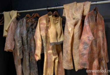 Одежда из человеческой кожи