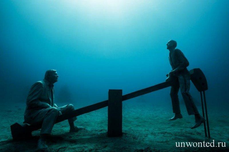 Подводная скульптура Дерегулирование - Deregulated, Джейсон де Кайрес Тэйлор