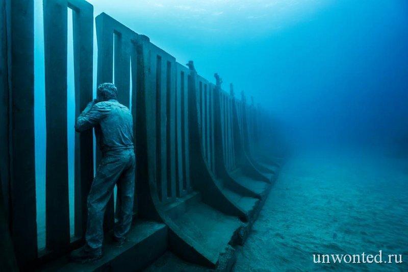 Подводная скульптура фотографа - Джейсон де Кайрес Тэйлор