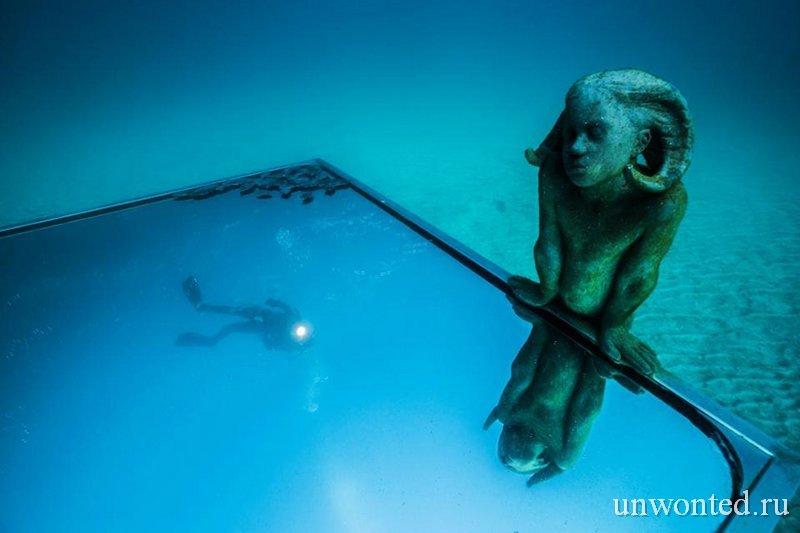 Подводная скульптура Портал - Джейсон де Кайрес Тэйлор