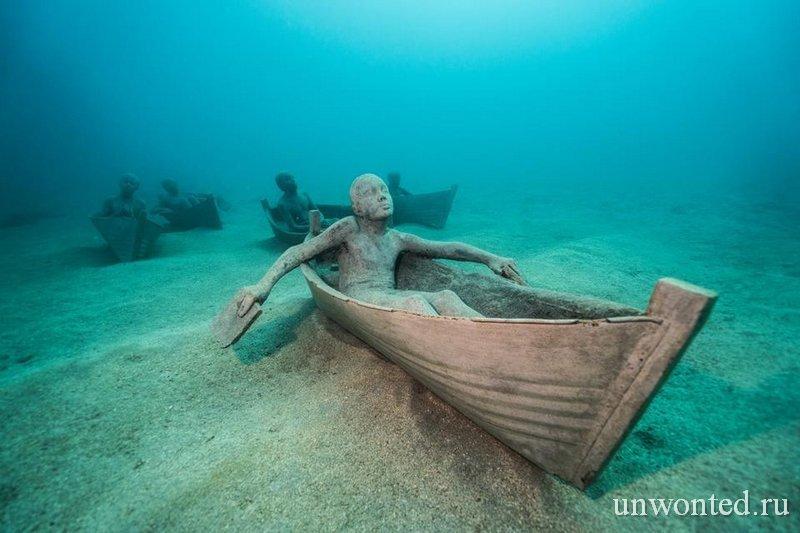 Подводная скульптура Jolateros - Джейсон де Кайрес Тэйлор